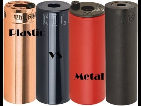 Plastic vs Metal Pegs for BMX!