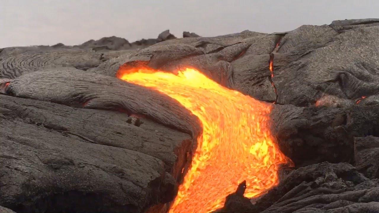 Big island hawaii lava flow tours