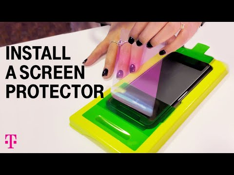 How To Apply Screen Protector For IPhone And Android | T-Mobile