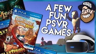 A Few PSVR Games You Might have Missed