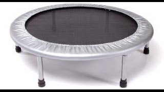 Stamina Rebounder 36 inch -Review (Affordable mini-trampoline)