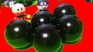 不思議カプセル❤アンパンマン アニメ&おもちゃ ガチャガチャ!Anpanman Toys Animation surprise eggs thumbnail