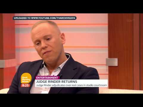 HD Good Morning Britain: Judge Rinder   Wednesday 7th January 2015