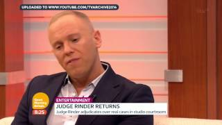 [HD] Good Morning Britain: Judge Rinder Interview - Wednesday 7th January 2015