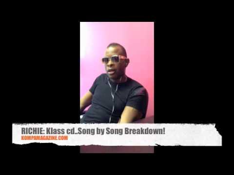 Richie talks about each song on KLASS CD! (April 2013)