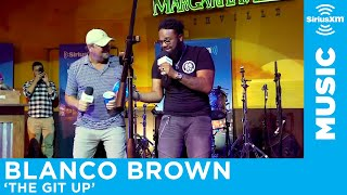 Blanco Brown Performs & Teaches the Dance to 'The Git Up' [LIVE @ Margaritaville]