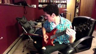 tech n9ne worldwide choppers improv metal guitar cover