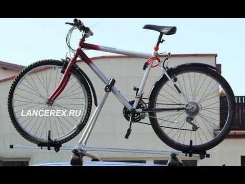 Багажник для велосипеда на крышу авто