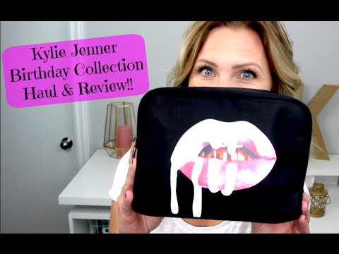 Kylie Jenner Birthday Collection Haul & Review!!
