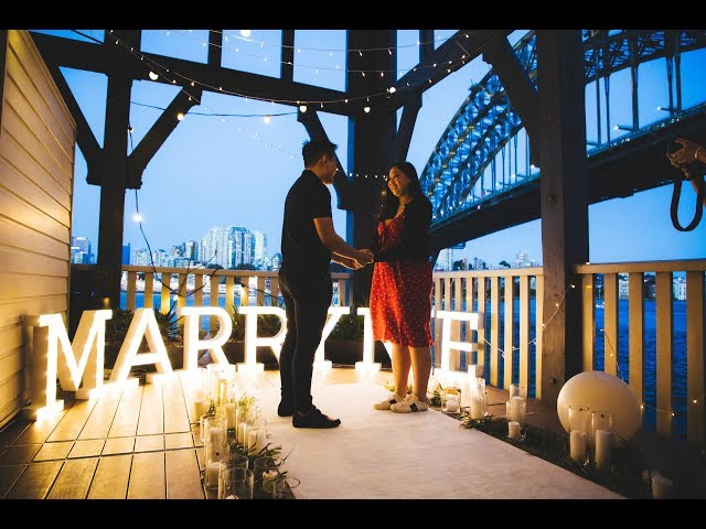 She Didn't Expect this! Hotel Balcony Proposal | my proposal co. | Sydney