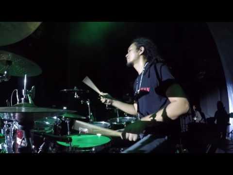 AGUNG GIMBAL - BUKAN CINTA MANUSIA BIASA Live at SABIAN DAY 2016 [DRUM CAM]