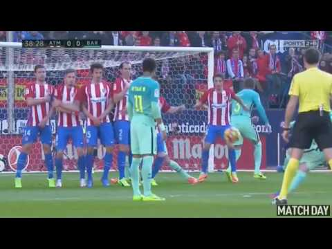 Atletico Madrid vs Barcelona 1 2   All Goals & Extended Highlights   La Liga 26 02 2017 HD