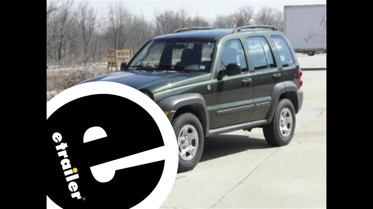 2007 Jeep Liberty Trailer Wiring Harness Schematics Diagram Radio Hitch Installation Etrailer Com Youtube 2006