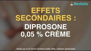 Diprosone 0,05% : les effets secondaires