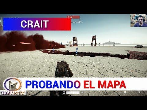 Download Youtube: Star Wars Battlefront II Probando Crait y a Finn en Asalto Galáctico