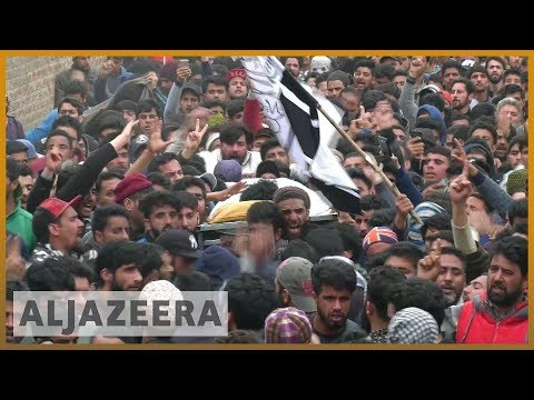 🇮🇳 Protests after Indian troops kill three rebels in Kashmir | Al Jazeera English
