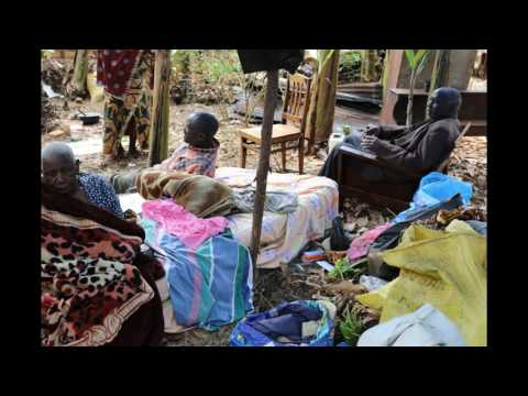 NW Tanzania - late 2017 earthquake damage to subsistence farmer homes