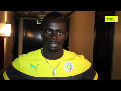 Sadio Mané, Interview d'avant match