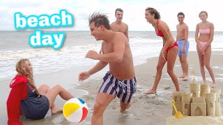 Outer Banks Beach Day & Scary Tropical Storms!