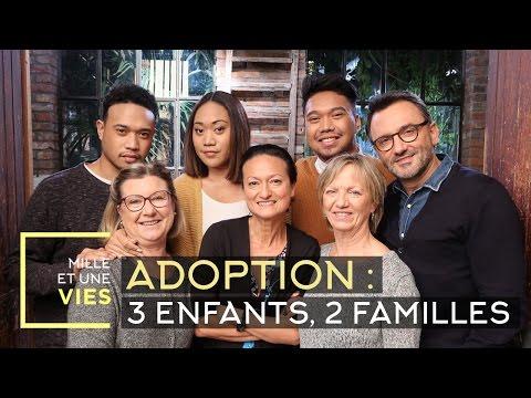 Adoption : 3 enfants, 2 familles, 1 mère - Mille et une vies