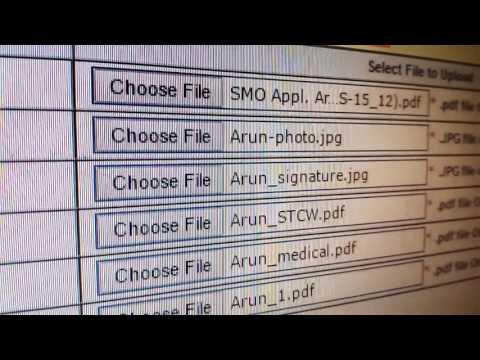 CDC documents uploading