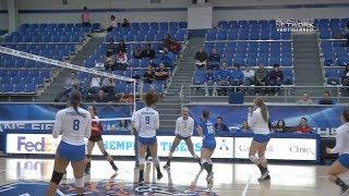 Memphis Volleyball: Cincinnati Match Highlights