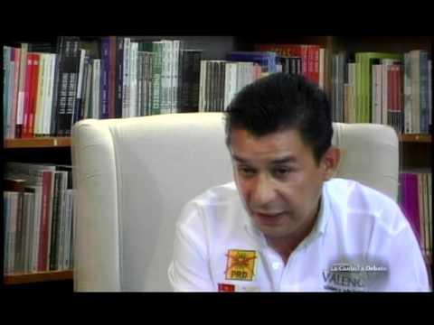 Jesús Valencia Candidato en Iztapalapa entrevistado por Evangelina Elizondo