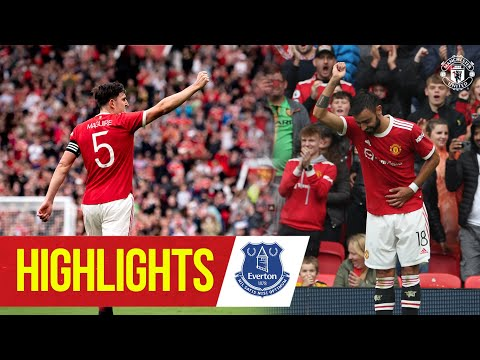Rampant Reds hit Everton for four | Manchester United 4-0 Everton | Highlights | Pre-Season 21/22