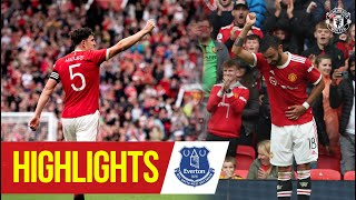 Rampant Reds hit Everton for four   Manchester United 4-0 Everton   Highlights   Pre-Season 21/22