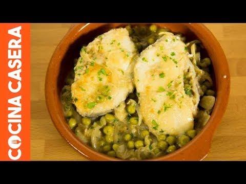 Merluza En Salsa Verde Receta F Cil De Pescado Youtube