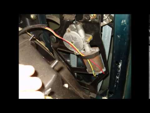 How To Fix Mustang Power Window Motor Youtube