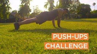 Dr. Nicholas Romanov's Push-Ups Challenge