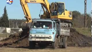 Cooperativa de vivienda de FUECYUS comenzó movimiento de tierra para iniciar construcción