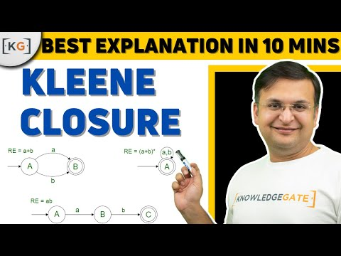Kleene Closure | TOC | THEORY OF COMPUTATION | AUTOMATA | COMPUTER SCIENCE | part-8