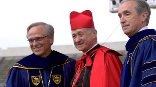Notre Dame Commencement 2018: Cardinal Cupich Honorary Degree