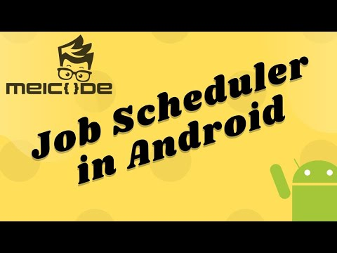 JobScheduler - Background Works Made Easy In Android