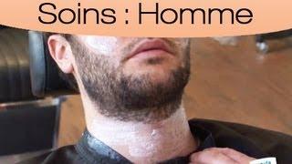 Raser facilement un beau collier de barbe