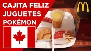 Cajita Feliz McDonalds Canadá - Comiendo en Canadá