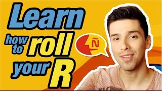 learn spanish how to roll your r s tutorial rr trill pronunciation
