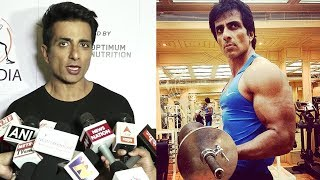 Sonu Sood Gym Body Building & Fitness Tips For Youngsters
