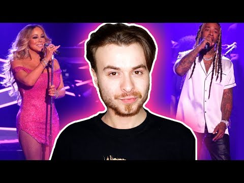 Mariah Carey ft. Ty Dolla $ign: The Distance on Jimmy Fallon [REACTION]