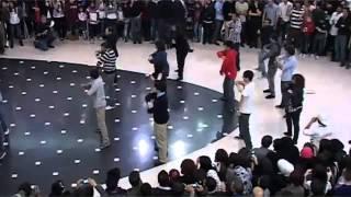 cute lil dance party at city mall amman jordan