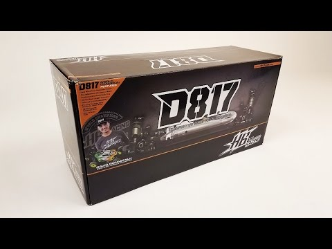 What's New: Hot Bodies D817 1/8 Off-Road Nitro Buggy Kit