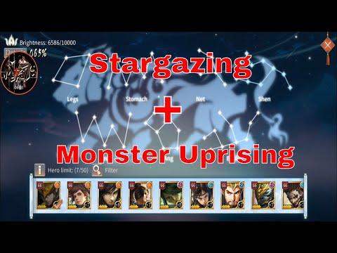 Three Kingdoms Epic War - Myths7k: Observatory Stargazing + Monster Uprising Guide Detailed