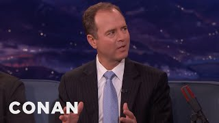 Representative Adam Schiff On Russia's Interference In The 2016 Election  - CONAN on TBS thumbnail