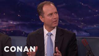 Representative Adam Schiff On Russia's Interference In The 2016 Election  - CONAN on TBS