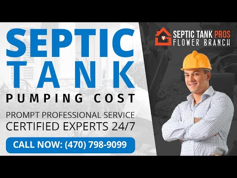 Septic Tank Pumping Cost in Canton