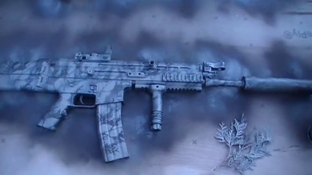 custom airsoft camo paint part 1 youtube. Black Bedroom Furniture Sets. Home Design Ideas