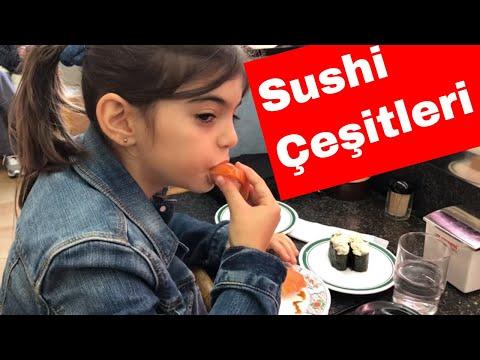 Bu Sushileri Taniyan Var Mi? | Sushi Isimleri | Midesi Kaldirmayan Izlemesin :)