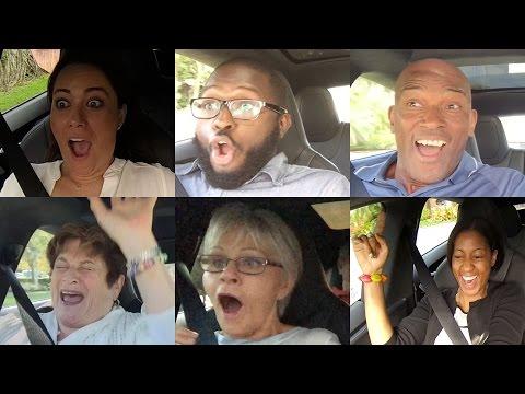 Tesla P85D Insane Mode Launch Reactions Compilation - Explicit Version